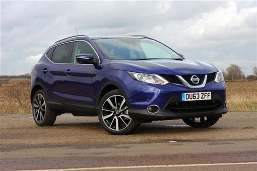 nissan qashqai 1 5 dci tekna 5d road test parkers. Black Bedroom Furniture Sets. Home Design Ideas