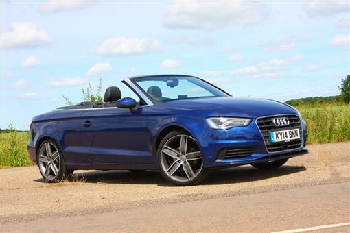 audi a3 cabriolet 2 0 tdi sport 2d road test parkers. Black Bedroom Furniture Sets. Home Design Ideas