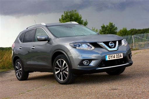nissan x trail 1 6 dci tekna 7 seat 5d xtronic road test parkers. Black Bedroom Furniture Sets. Home Design Ideas