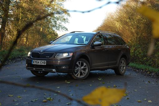 skoda octavia scout 2 0 tdi cr scout 4x4 5d road test parkers. Black Bedroom Furniture Sets. Home Design Ideas