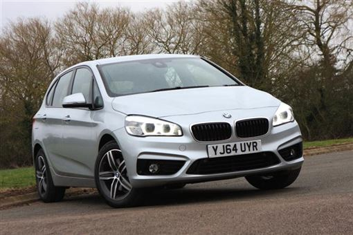 bmw 2 series active tourer 218i sport 5d road test parkers. Black Bedroom Furniture Sets. Home Design Ideas