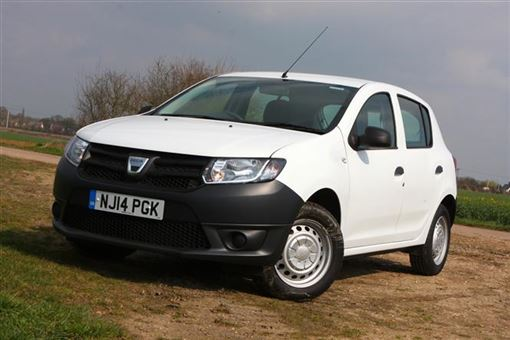 dacia sandero 1 2 16v access 5d road test parkers. Black Bedroom Furniture Sets. Home Design Ideas