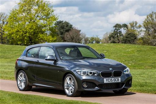 bmw 1 series hatchback 125d m sport 03 15 3d step auto road test parkers. Black Bedroom Furniture Sets. Home Design Ideas