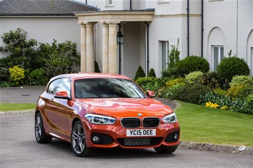 bmw 1 series hatchback 120i m sport 03 15 3d road test parkers. Black Bedroom Furniture Sets. Home Design Ideas