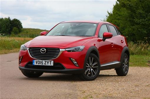 mazda cx 3 2 0 sport nav 5d road test parkers. Black Bedroom Furniture Sets. Home Design Ideas