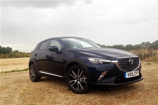 mazda cx 3 sport nav 5d road test parkers. Black Bedroom Furniture Sets. Home Design Ideas