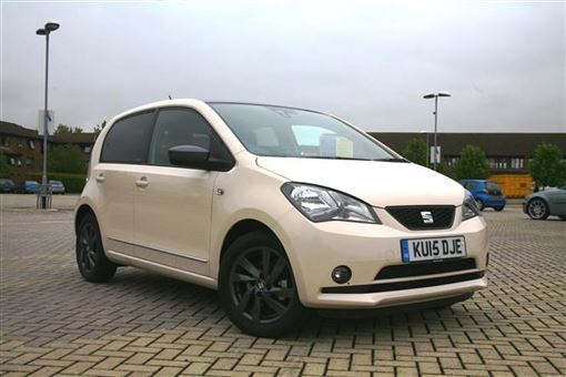 seat mii 1 0 75bhp mii by mango 5d road test parkers. Black Bedroom Furniture Sets. Home Design Ideas