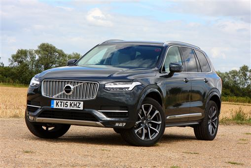volvo xc90 2 0 d5 inscription awd 5d geartronic road test parkers. Black Bedroom Furniture Sets. Home Design Ideas