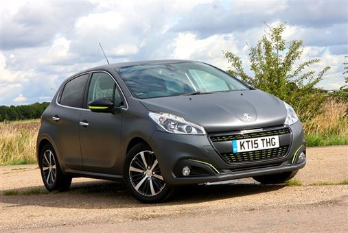 peugeot 208 hatchback 1 6 bluehdi 100bhp allure 5d road test parkers. Black Bedroom Furniture Sets. Home Design Ideas