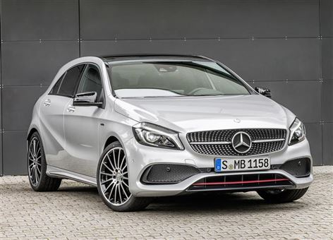 mercedes benz a class a250 amg premium 5d road test parkers. Black Bedroom Furniture Sets. Home Design Ideas