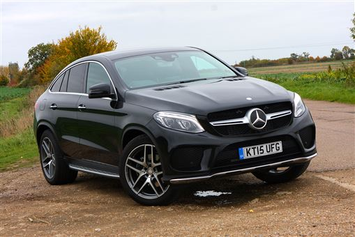 Mercedes Benz Gle Class Coupe Gle 350 D 4matic Amg Line 5d 9g Tronic Road Test Parkers