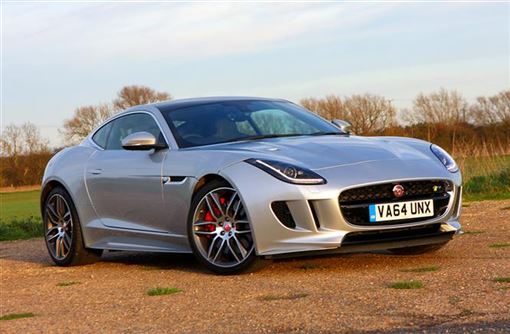 jaguar f type r coupe 5 0 supercharged v8 r awd coupe 2d auto road test parkers. Black Bedroom Furniture Sets. Home Design Ideas