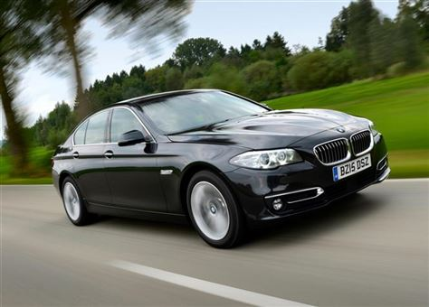 bmw 5 series saloon 520d 190bhp m sport 4d step auto. Black Bedroom Furniture Sets. Home Design Ideas