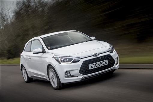 hyundai i20 coupe 1 0t gdi 120bhp sport nav 3d road test parkers. Black Bedroom Furniture Sets. Home Design Ideas