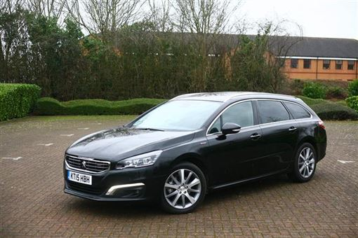 peugeot 508 sw 2 0 bluehdi 150bhp gt line 5d road test parkers. Black Bedroom Furniture Sets. Home Design Ideas