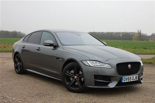 jaguar xf saloon 180bhp r sport 4d auto road test parkers. Black Bedroom Furniture Sets. Home Design Ideas