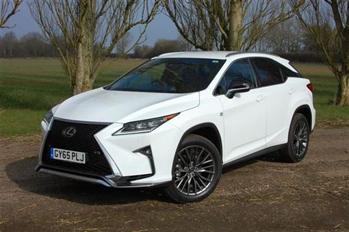 Bold But Hardly Beautiful   The Lexus RX 200t F Sport