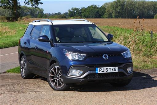 ssangyong tivoli xlv 1 6 elx diesel 4x4 5d road test parkers. Black Bedroom Furniture Sets. Home Design Ideas