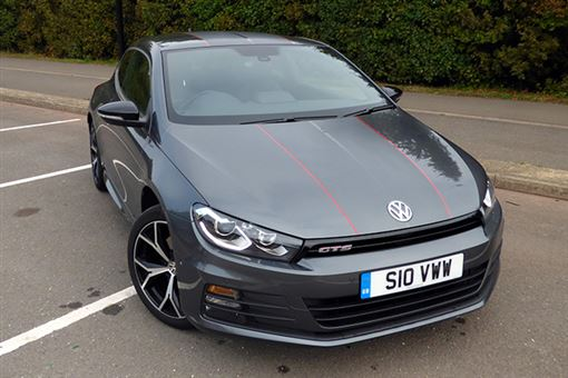 volkswagen scirocco 2 0 tsi bluemotion tech gts 3d road test parkers. Black Bedroom Furniture Sets. Home Design Ideas