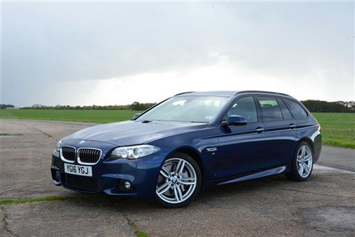 bmw 5 series touring 530d m sport 07 13 5d step auto road test parkers. Black Bedroom Furniture Sets. Home Design Ideas