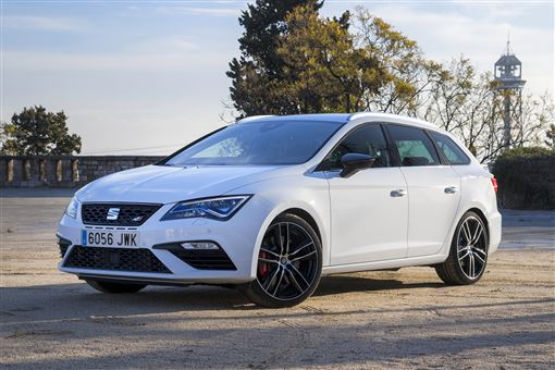 seat leon st cupra 300 2 0 tsi dsg auto 5d road test parkers. Black Bedroom Furniture Sets. Home Design Ideas