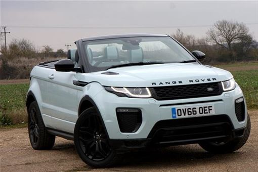 land rover range rover evoque convertible 2 0 td4 hse. Black Bedroom Furniture Sets. Home Design Ideas