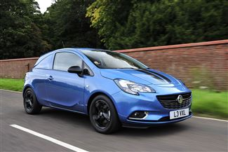 Vauxhall Corsavan Limited Edition Nav review on Parkers Vans