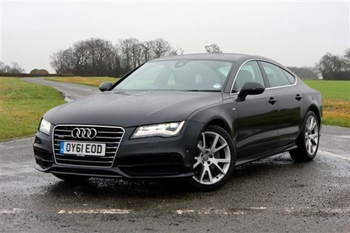 audi a7 sportback 3 0 tdi quattro s line 5d s tronic road test parkers. Black Bedroom Furniture Sets. Home Design Ideas