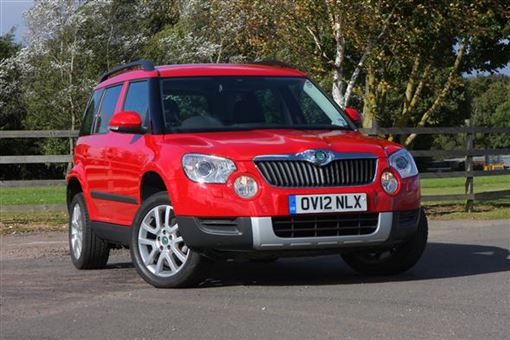 skoda yeti 2 0 tdi cr elegance 4x4 5d road test parkers. Black Bedroom Furniture Sets. Home Design Ideas