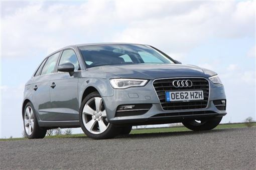 audi a3 sportback 1 4 tfsi sport 5d road test parkers. Black Bedroom Furniture Sets. Home Design Ideas