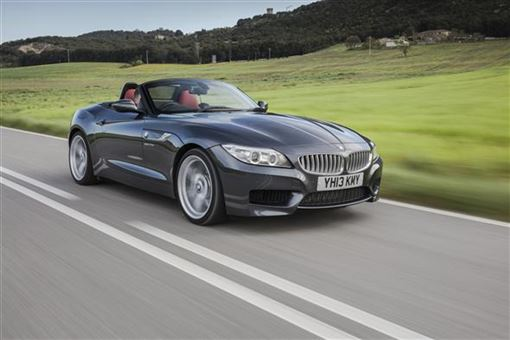 bmw z4 roadster 35i sdrive m sport 2d road test parkers. Black Bedroom Furniture Sets. Home Design Ideas