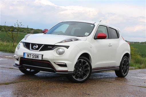 nissan juke nismo 1 6 dig t nismo 5d road test parkers. Black Bedroom Furniture Sets. Home Design Ideas
