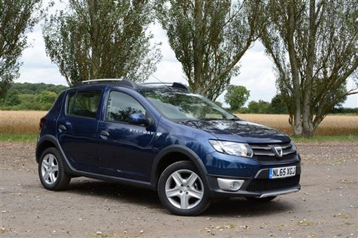 dacia sandero stepway 1 5 dci laureate 5d road test parkers. Black Bedroom Furniture Sets. Home Design Ideas