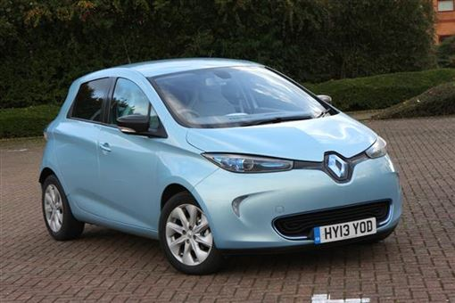renault zoe hatchback dynamique zen 5d auto road test parkers. Black Bedroom Furniture Sets. Home Design Ideas