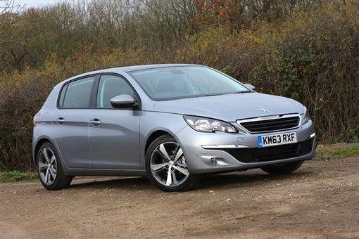 peugeot 308 hatchback 1 6 hdi active 5d road test parkers. Black Bedroom Furniture Sets. Home Design Ideas