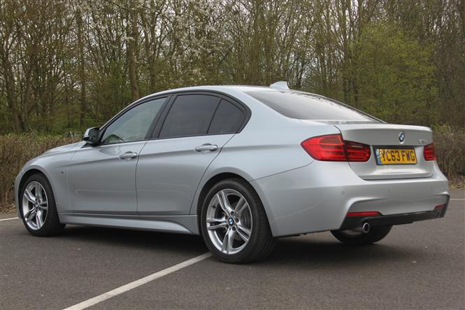 BMW Series Saloon D M Sport Professional Media D Road Test - Bmw 3 sport