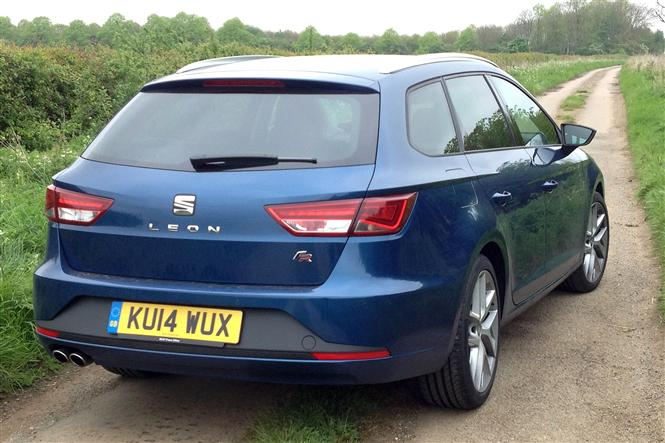 seat leon st 2 0 tdi fr technology pack 5d road test parkers. Black Bedroom Furniture Sets. Home Design Ideas