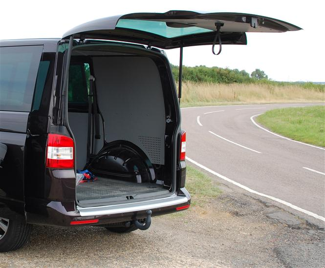 Tailgate Or Barn Doors For Vans Parkers