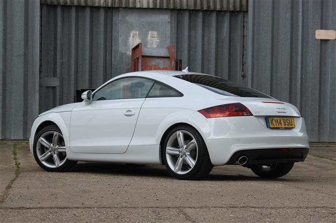 audi tt coup 2 0t fsi sport 2011 2d s tronic road test parkers. Black Bedroom Furniture Sets. Home Design Ideas