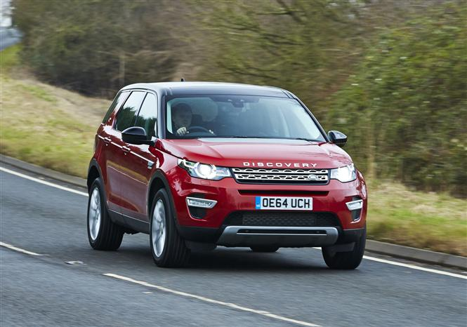 land rover discovery sport 2 2 sd4 se tech 5d road test parkers. Black Bedroom Furniture Sets. Home Design Ideas