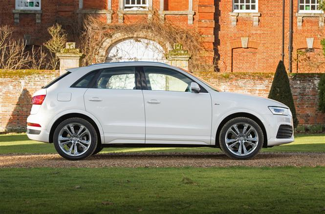 audi q3 2 0 tdi 184bhp quattro s line 5d s tronic road test parkers. Black Bedroom Furniture Sets. Home Design Ideas