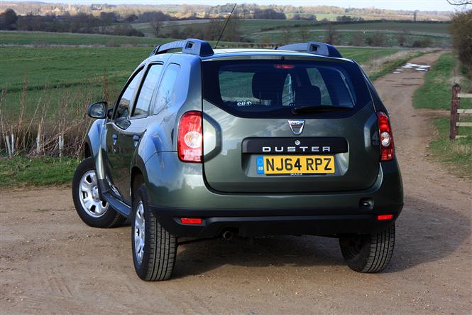 dacia duster estate 1 5 dci 110bhp ambiance 4x4 09 14 5d road test parkers. Black Bedroom Furniture Sets. Home Design Ideas