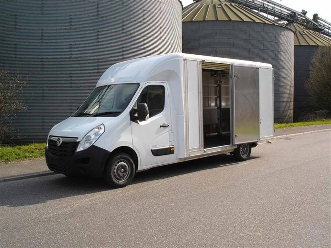 Vauxhall Shows Off Its Movano Approved Conversions Parkers