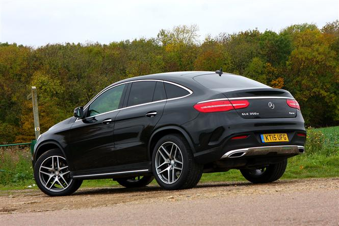 mercedes benz gle class coupe gle 350 d 4matic amg line 5d 9g tronic road test parkers. Black Bedroom Furniture Sets. Home Design Ideas
