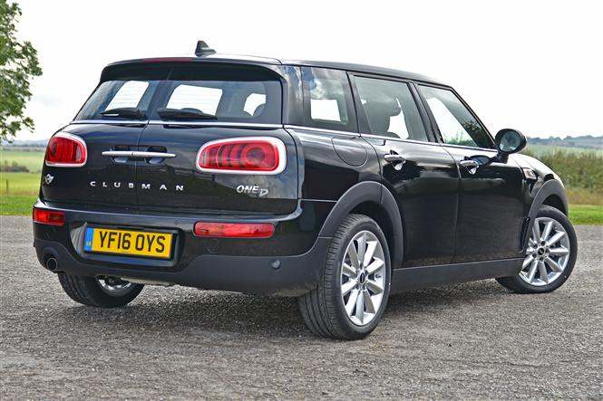 mini clubman 1 5 one d 6d road test parkers. Black Bedroom Furniture Sets. Home Design Ideas