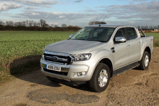 ford ranger  tdci ps pick  double cab limited  road test parkers