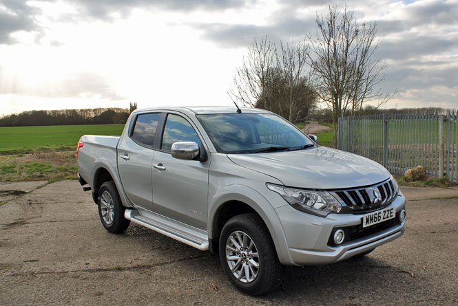 Road test review of the Mitsubishi L200 Warrior