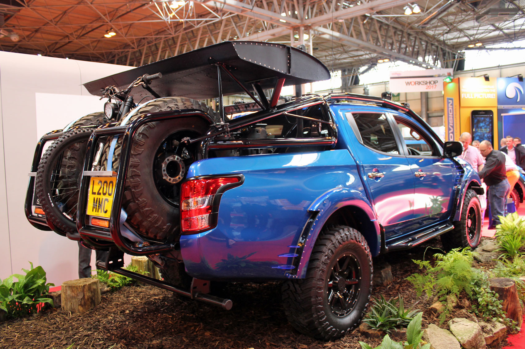 Mitsubishi L200 Special Editions Star At The Cv Show 2017