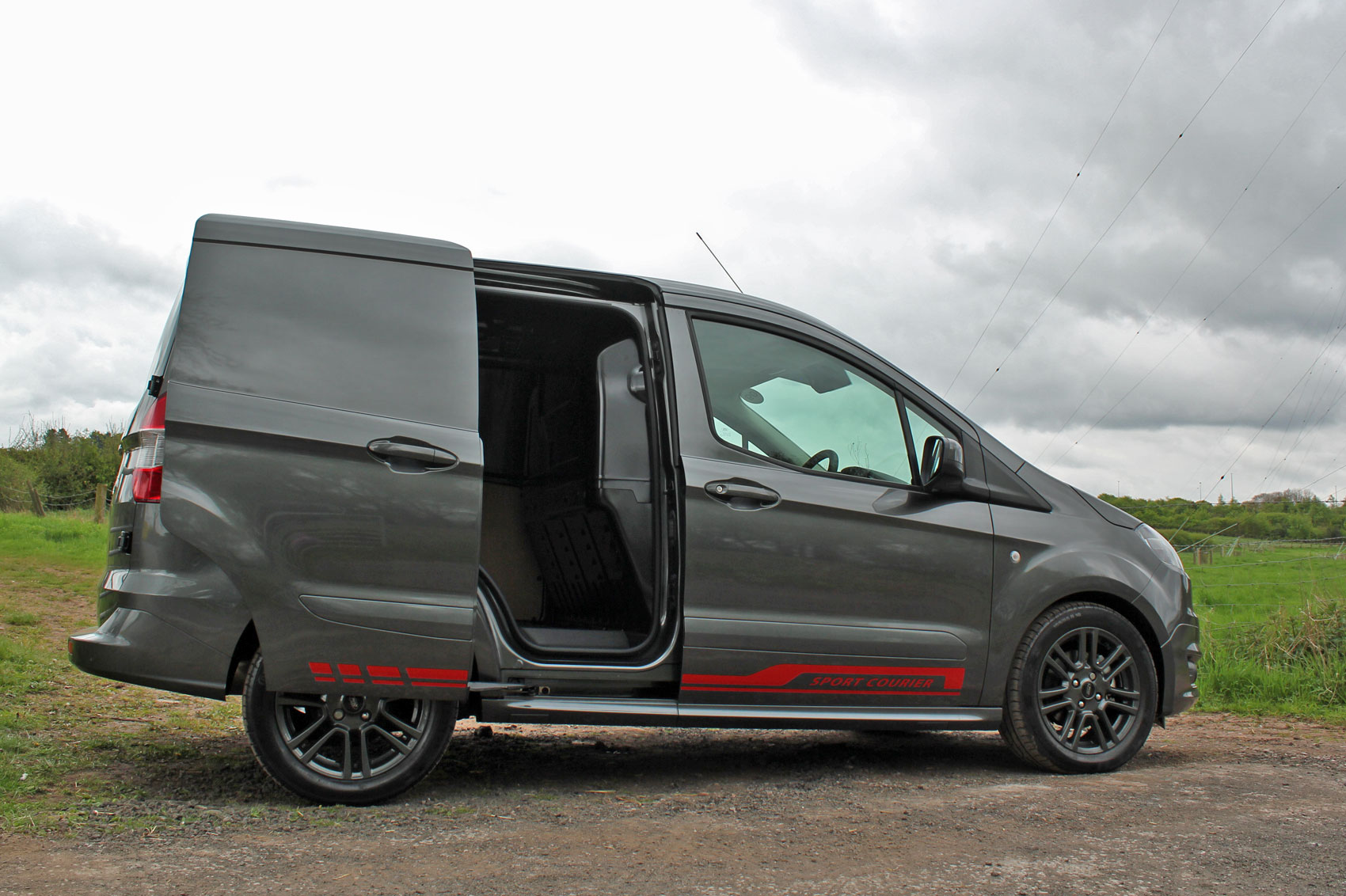 Ford Transit Courier 1 5 Tdci 95ps Sport Van Road Test