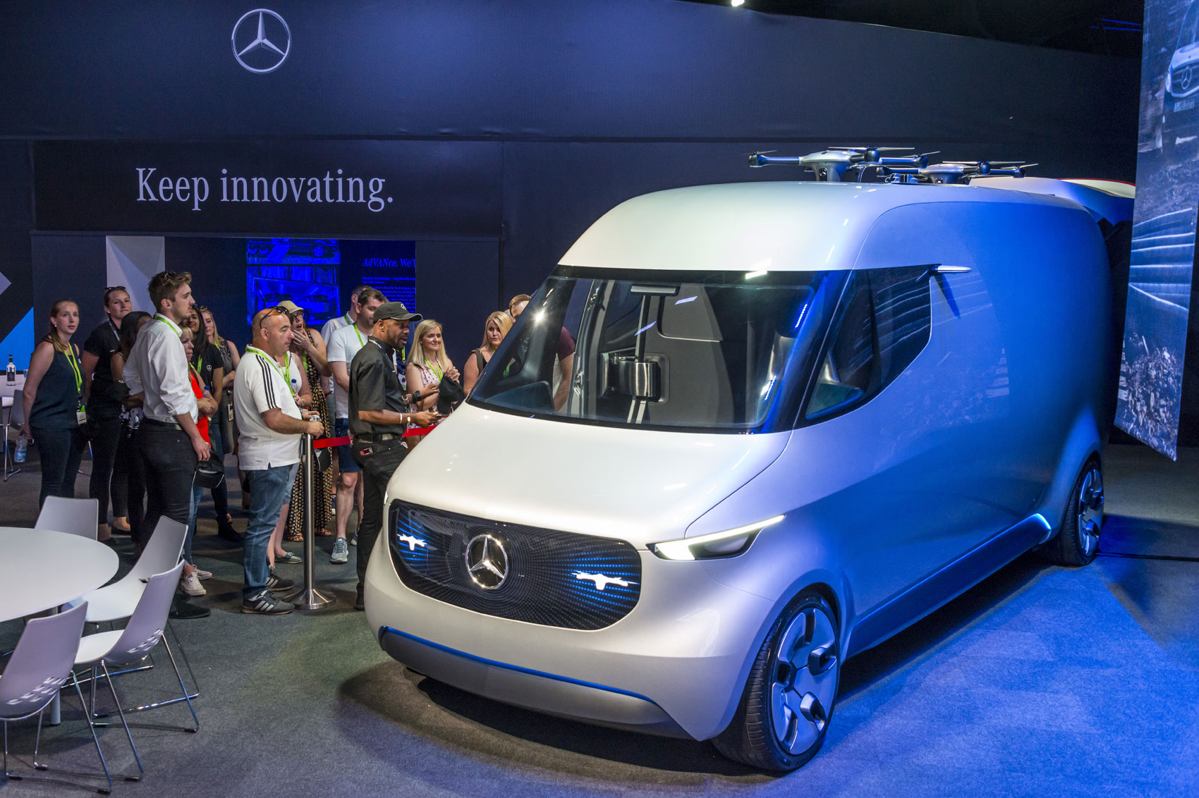 mercedes esprinter: electric version of next-generation sprinter